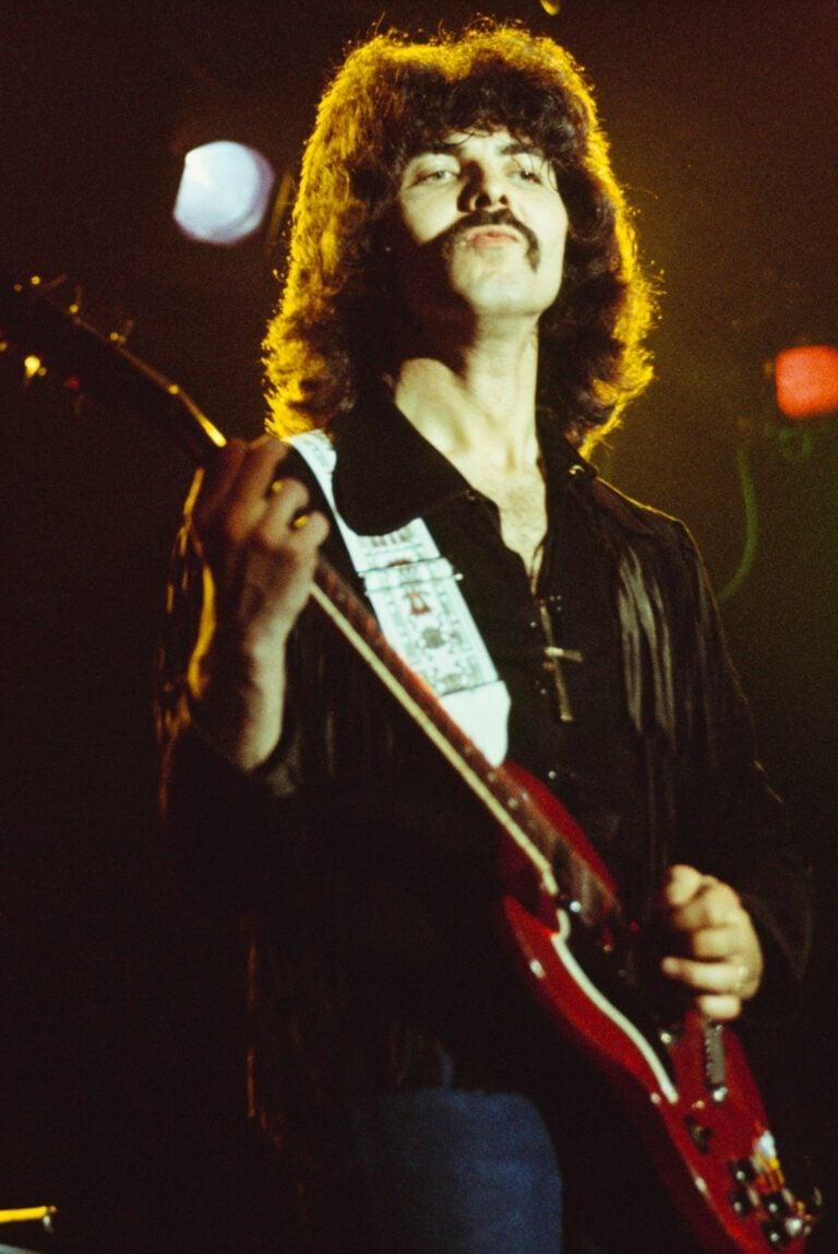 Black Sabbath On Stage Tony Iommi
