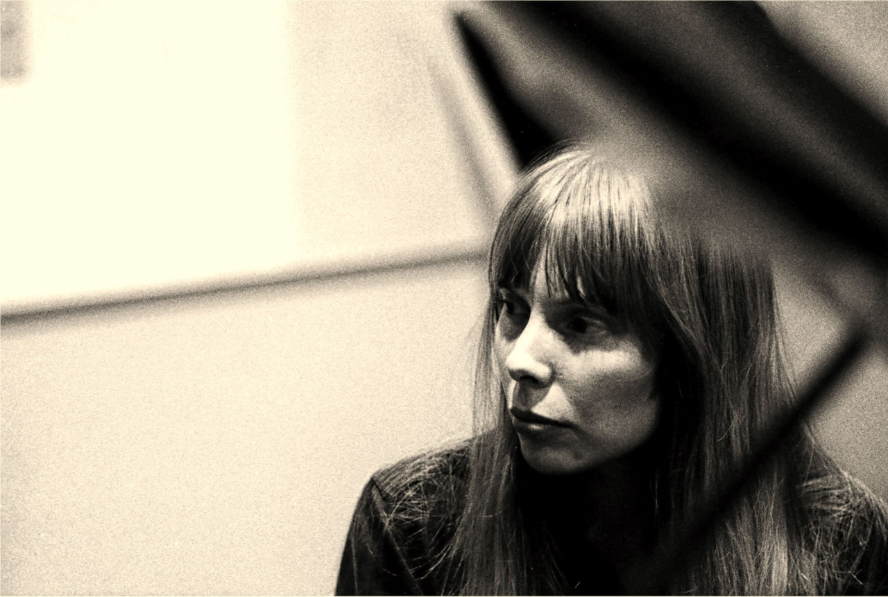 Recording Session For Joni Mitchell's First Album,
