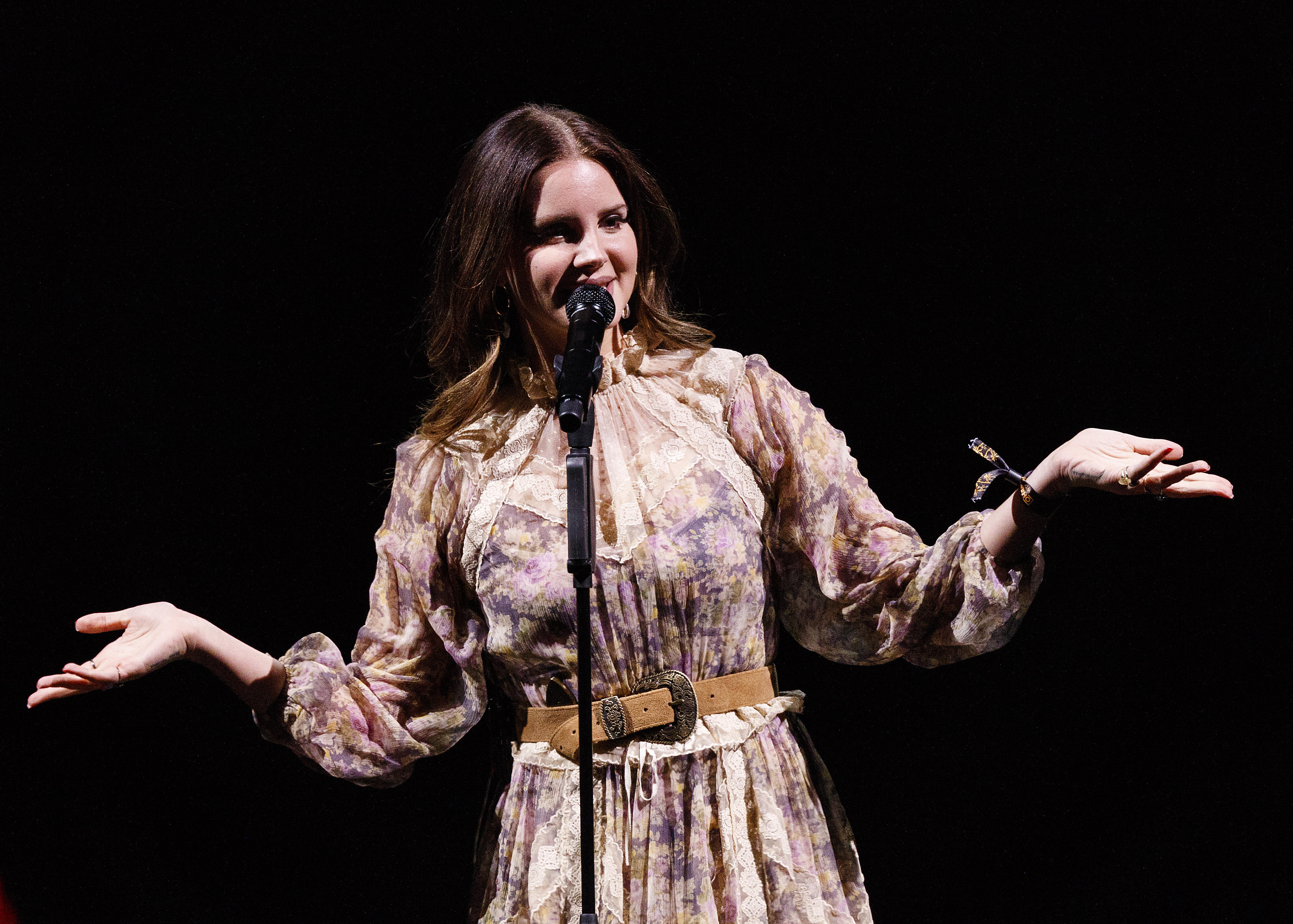 Lana Del Rey Performs At Rogers Arena