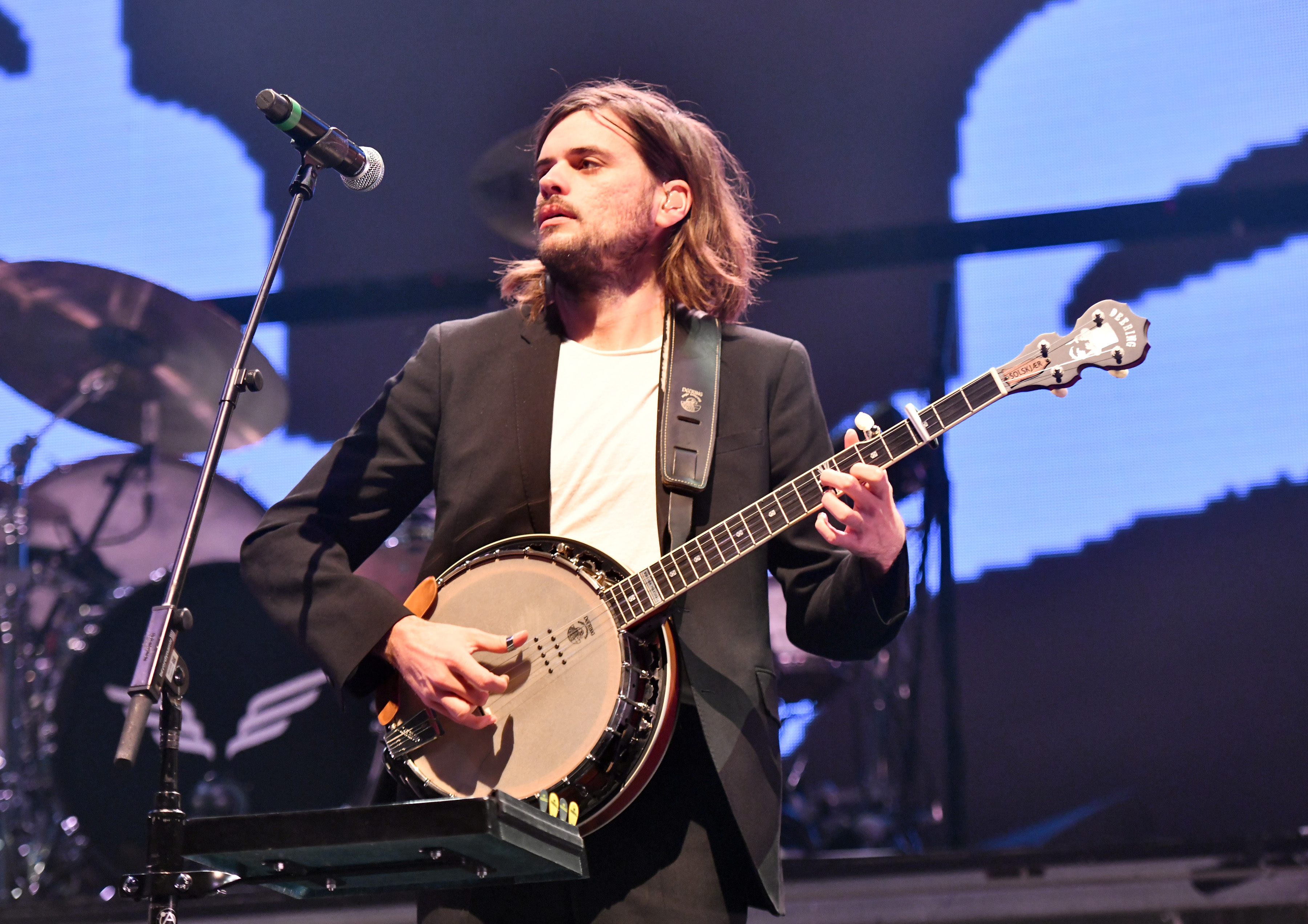 Winston Marshall of Mumford & Sons KROQ Absolut Almost Acoustic Christmas 2019