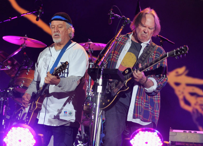 Neil Young and Frank Poncho Sampedro