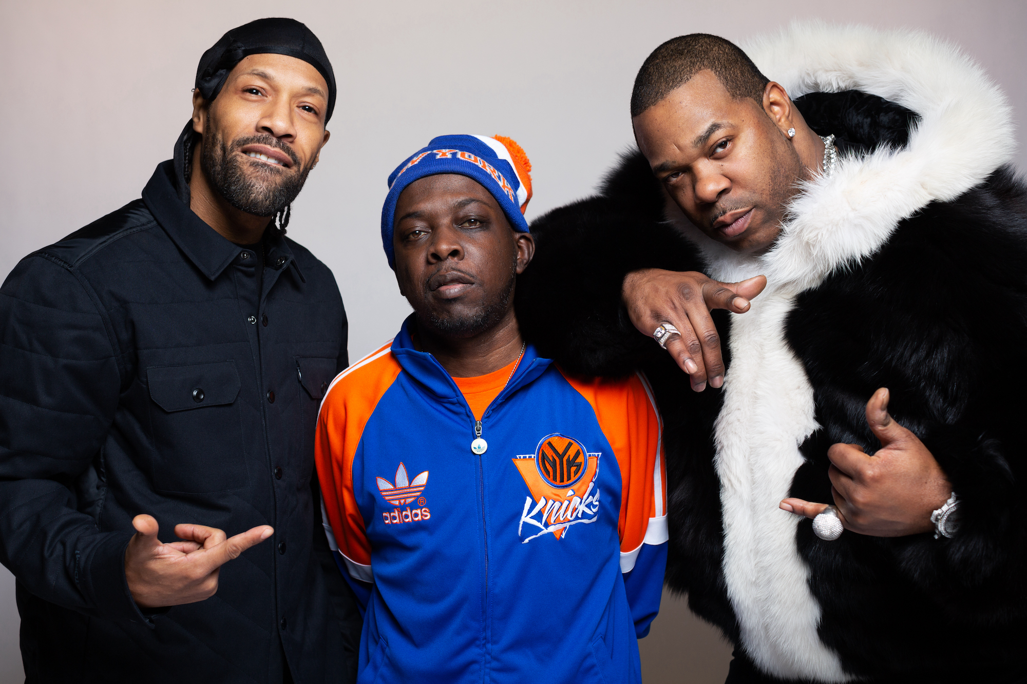 Phife Dawg Busta Rhymes and Redman