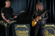 Watch Metallica Slay the National Anthem Before a Warriors Game
