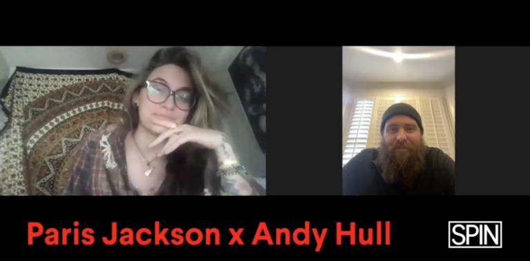 Paris Jackson Andy Hull