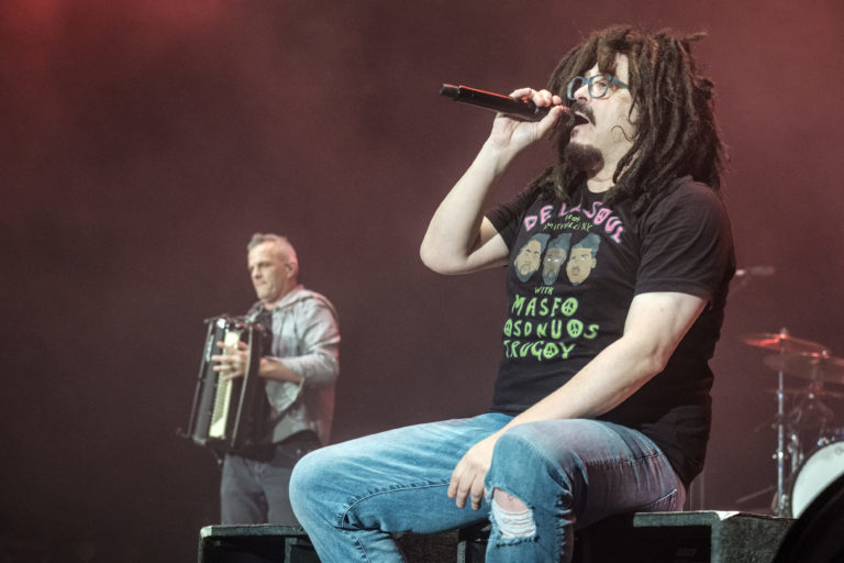 Counting Crows Perform At The O2 Arena London