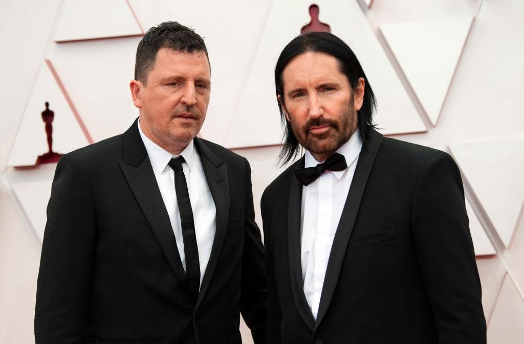 Trent Reznor Atticus Ross 93rd Annual Academy Awards - Arrivals