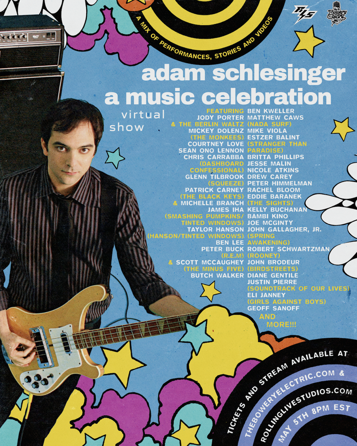 'Adam Schlesinger: A Music Celebration'