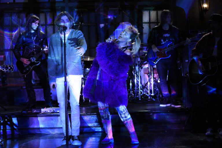 Miley Cyrus Saturday Night Live - Season 46