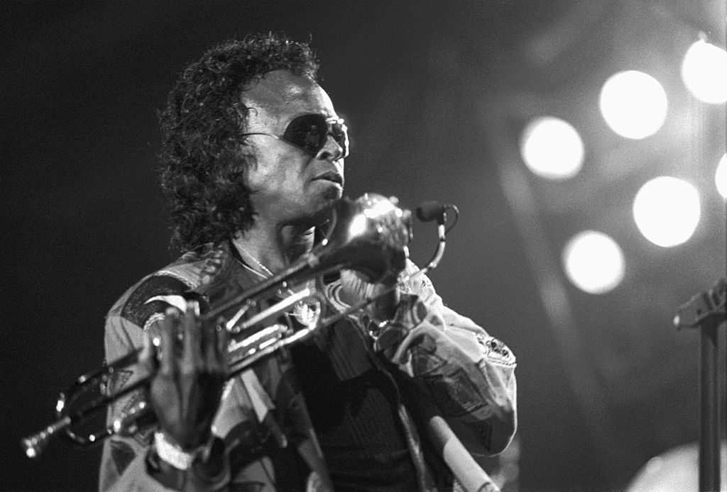 Miles Davis performing in the Netherlands