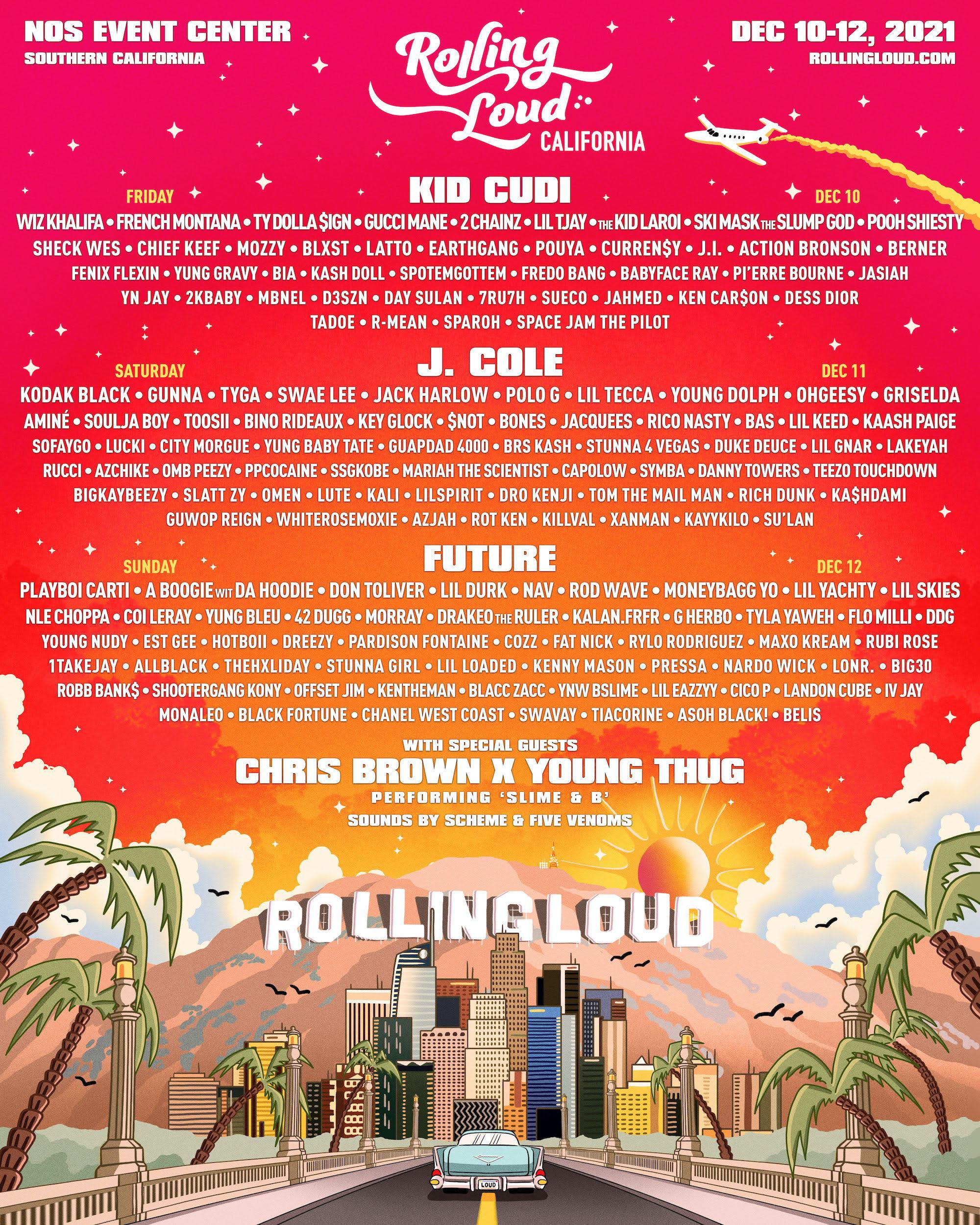 Rolling Loud 2021 Lineup