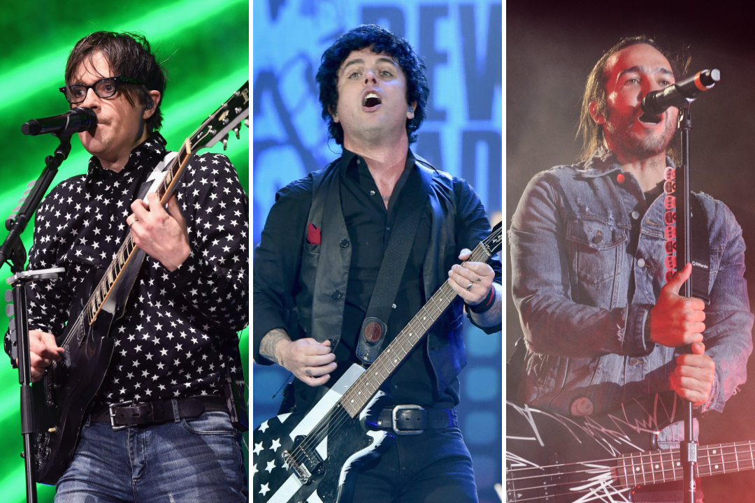 Green Day Weezer Fall Out Boy