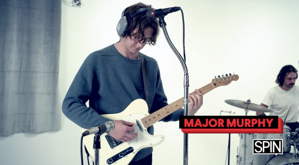 SPIN Sessions Presents: Major Murphy