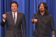 Watch Dave Grohl Have Fun Co-Hosting <i>The Tonight Show</i>