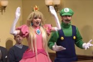 Grimes Plays Princess Peach to Elon Musk's Wario on <i>Super Mario</i> Themed <i>SNL</i> Skit