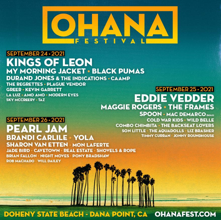 Ohana fest poster