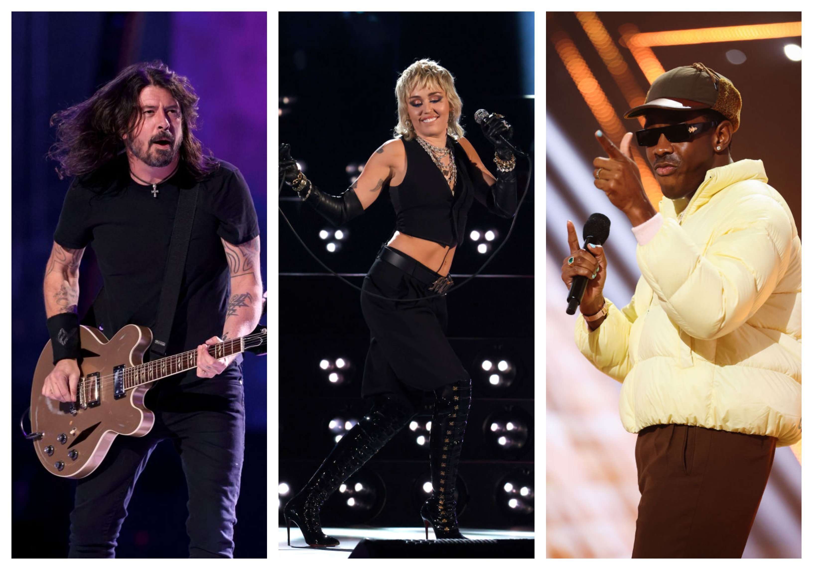 Foo Fighters Miley Cyrus Tyler the Creator