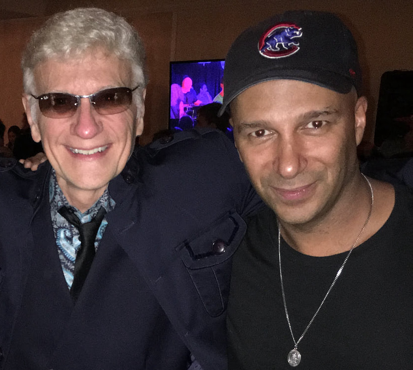 Tom Morello and Dennis DeYoung