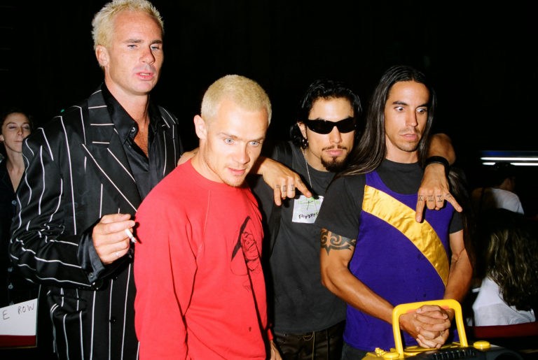 Red Hot Chili Peppers 1995 MTV Video Music Awards Rehearsals