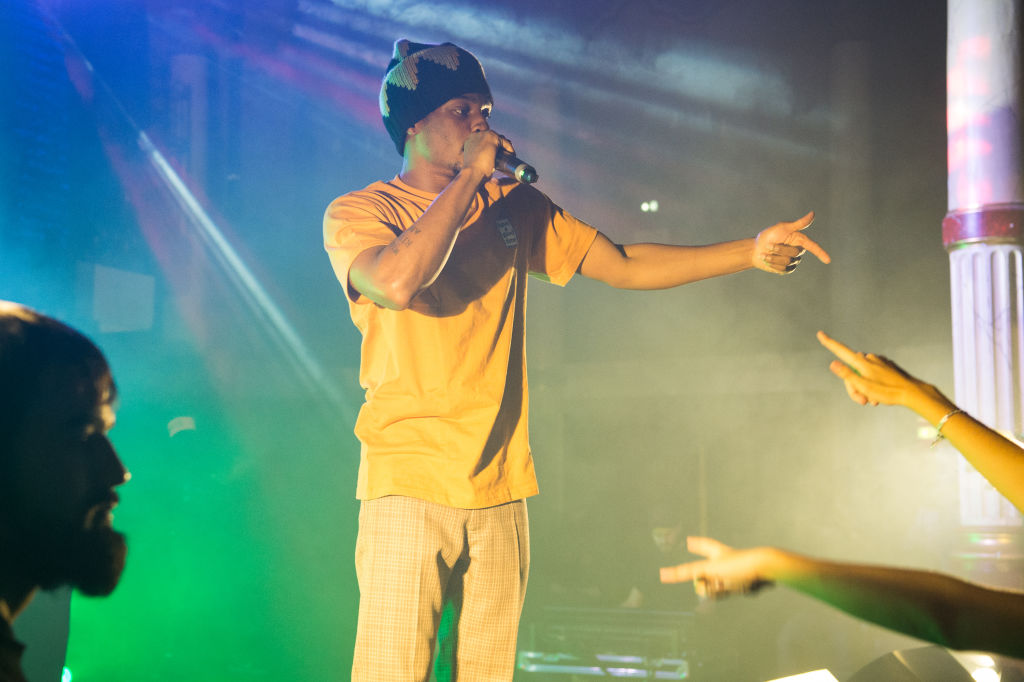 Denzel Curry Performs At La Salle Wagram