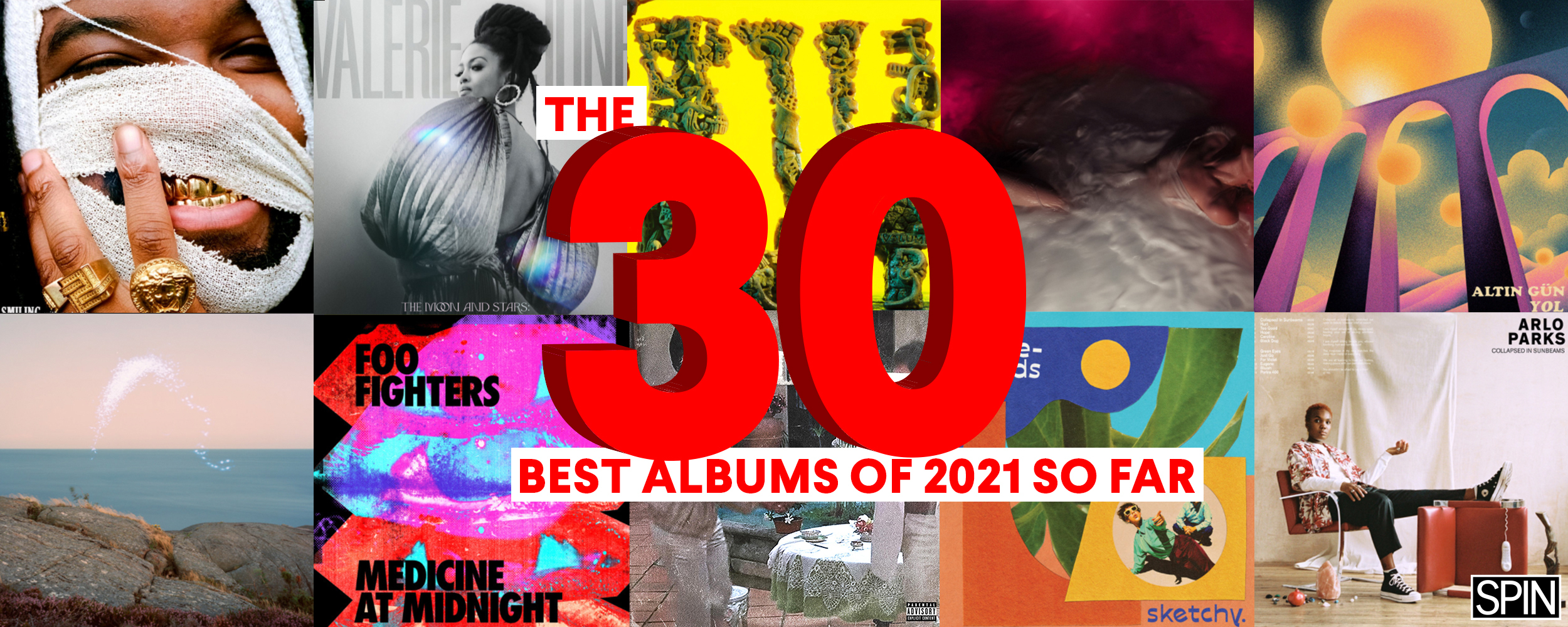 The 30 Best Albums of 2021 (So Far)