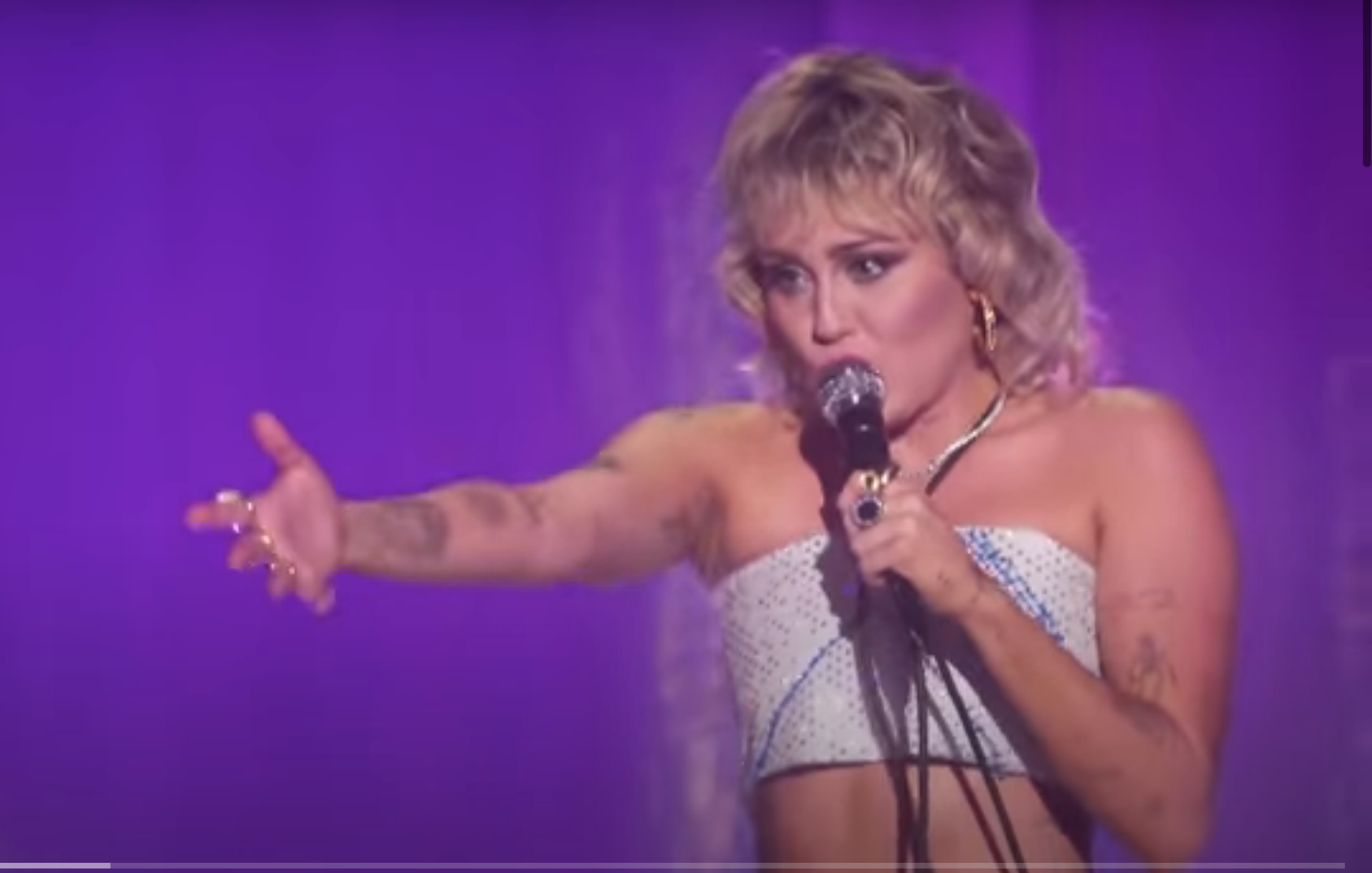 Miley Cyrus Covers Cher's 'Believe' on Pride Month Special