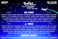 Rolling Loud Brings Travis Scott, J. Cole, 50 Cent, and Many More to New York This October