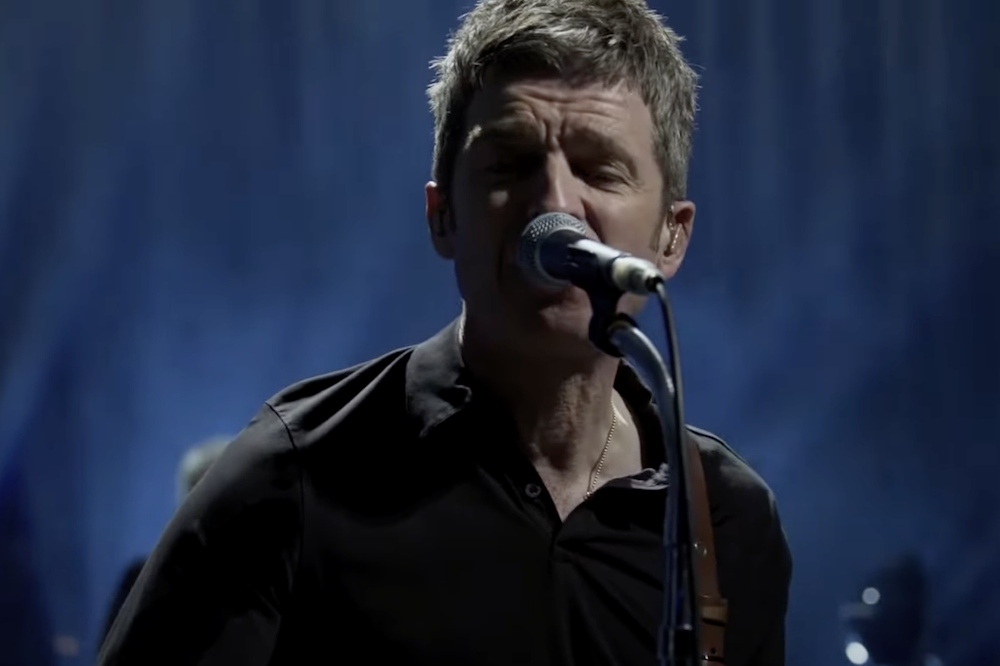 Noel Gallagher Pulls Out Old Oasis Hit During <i>CBS This Morning</i> Performance