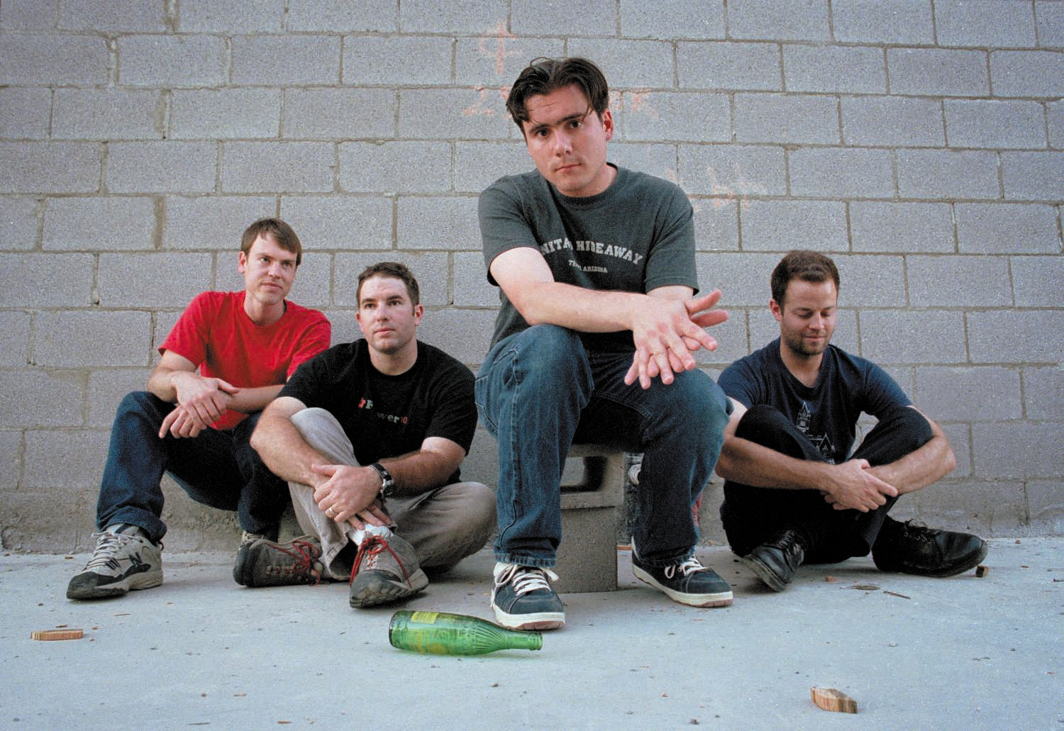 How Jimmy Eat World Fought Their Way Out of 'The Middle'