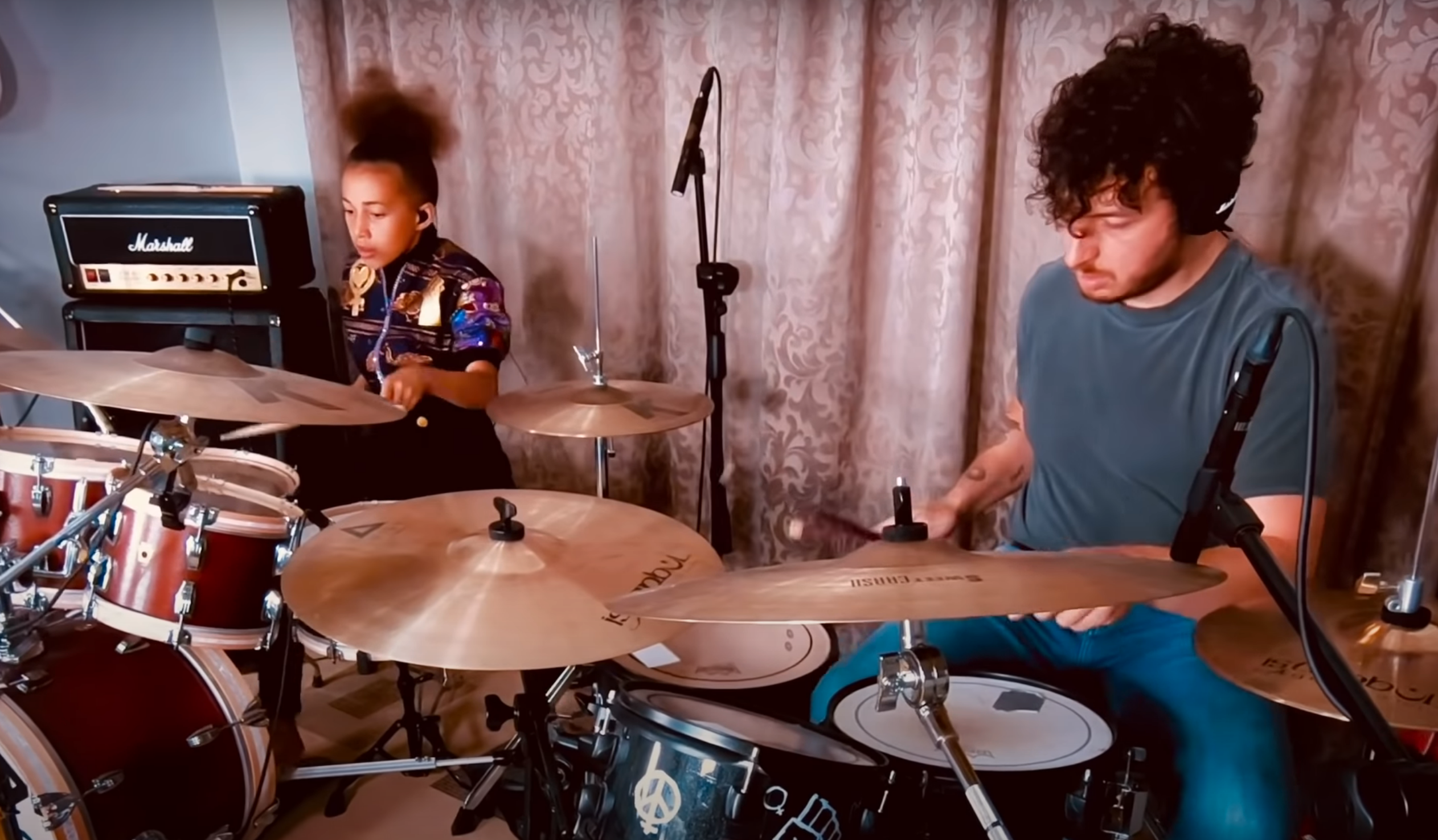 Nandi Bushell and Matt Helders Cover Arctic Monkeys' 'R U Mine?' and 'Brainstorm'