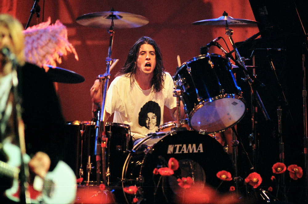 Dave Grohl Admits He Was 'Ripping Off' Disco Drummers While Recording <i>Nevermind</i>