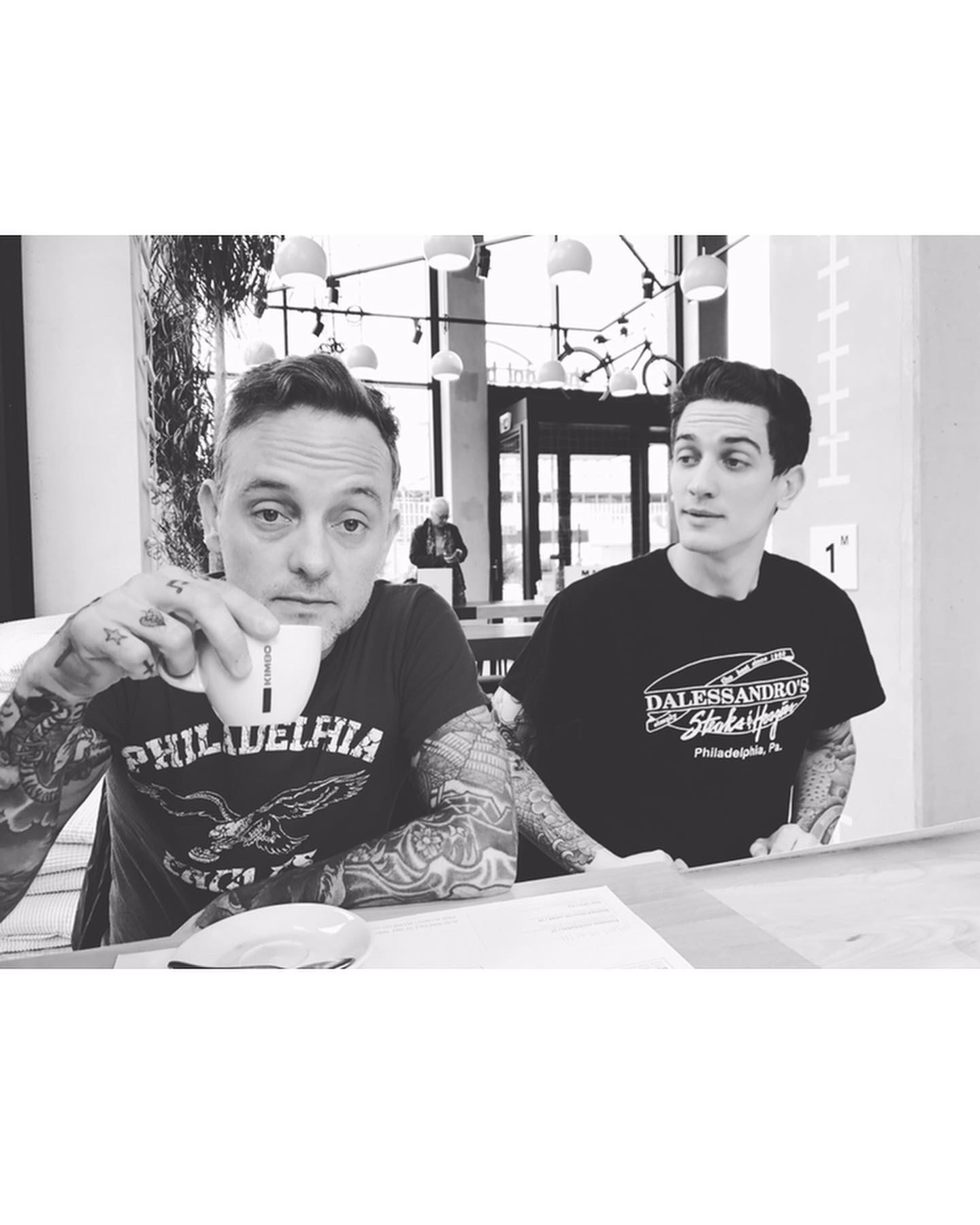 Dave Hause and Tim Hause