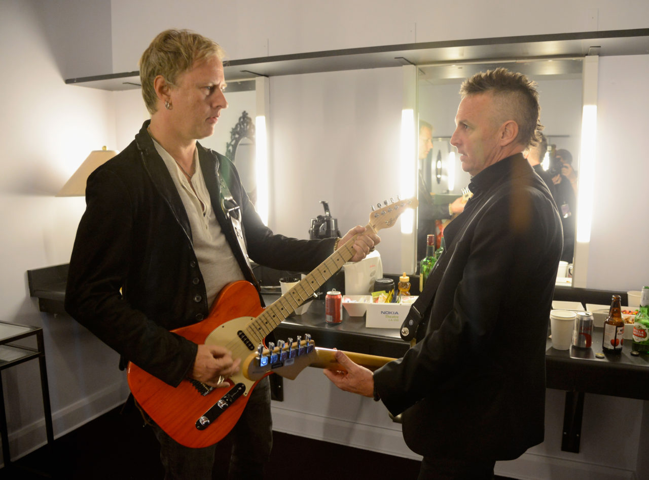 Jerry Cantrell and Mike McCready