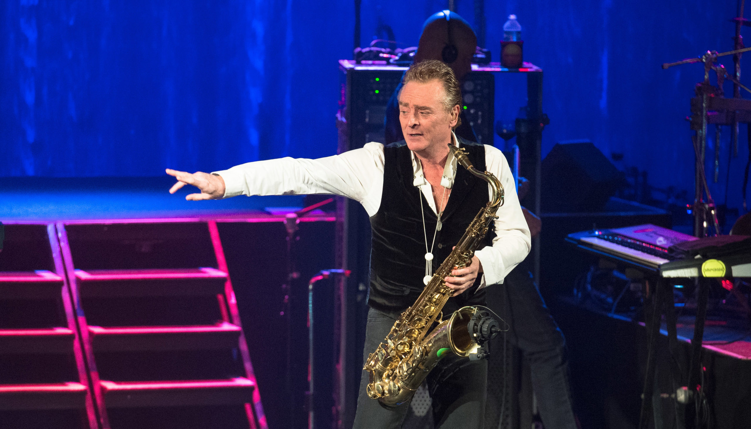 Brian Travers UB40 Performs At Le Trianon