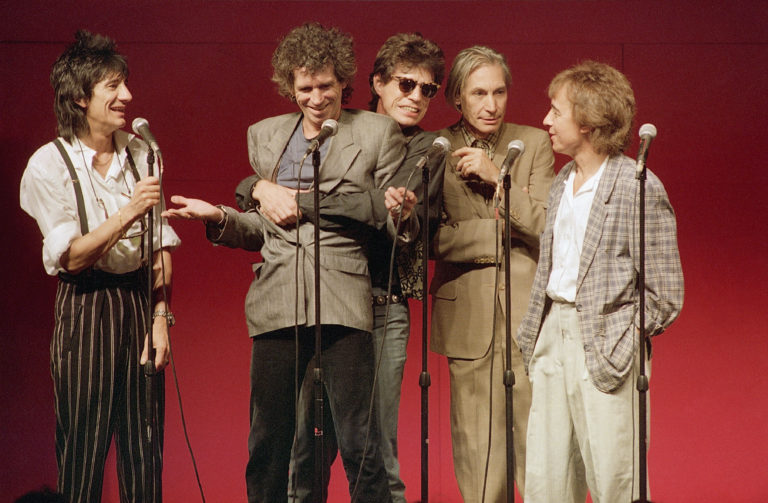 The Rolling Stones at Press Conference