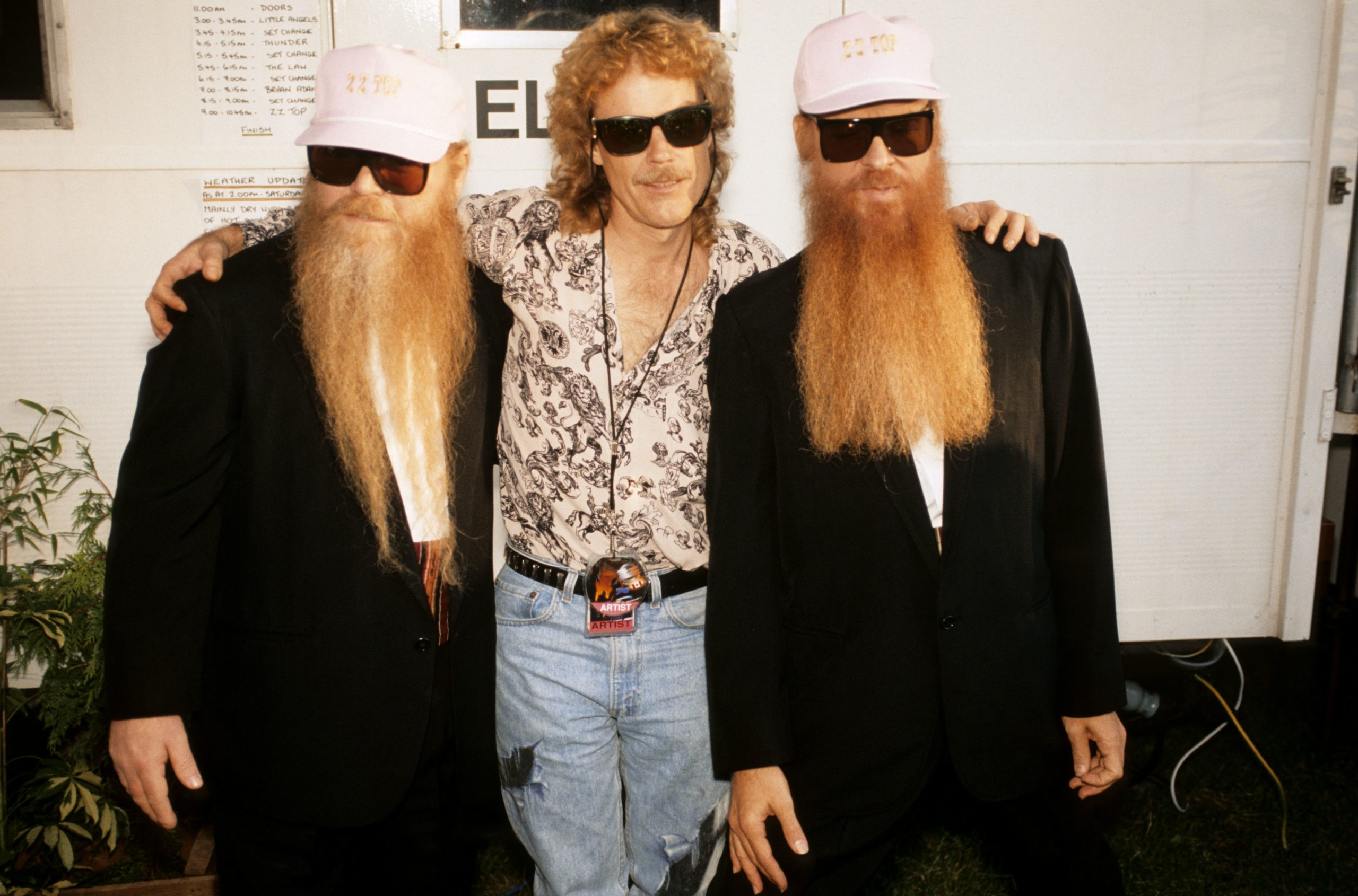 Three Men and a Good Time, Baby: Our 1991 ZZ Top Cover Story