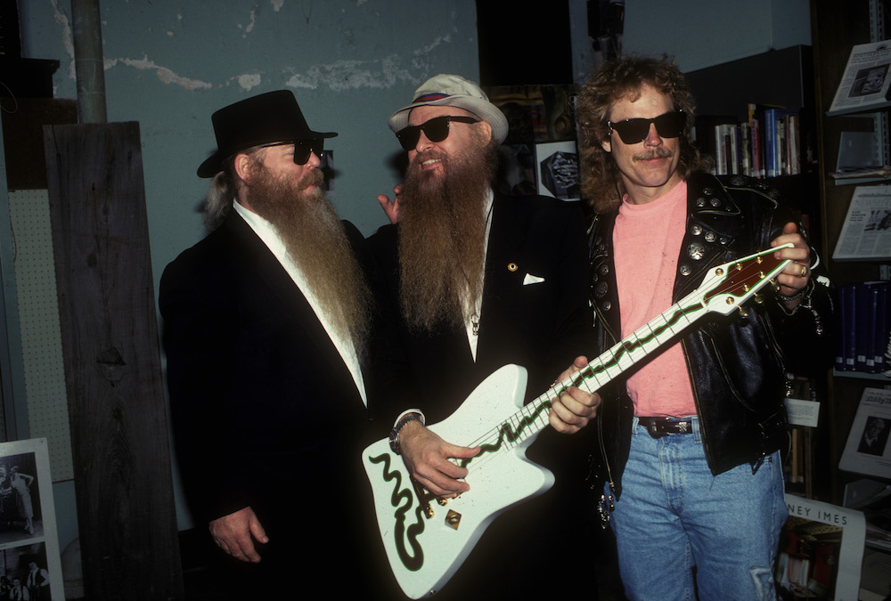 Photo of ZZ TOP and Billy GIBBONS and Dusty HILL and Frank BEARD