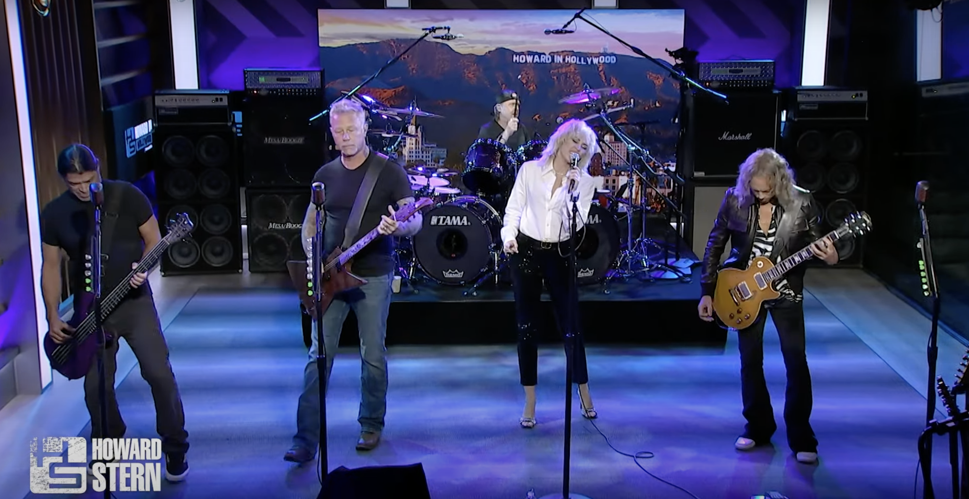 Watch Miley Cyrus Join Metallica for 'Nothing Else Matters' Performance