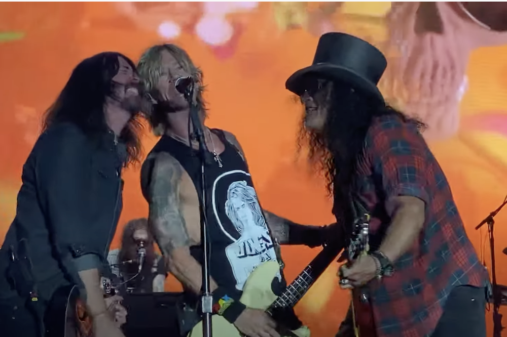 BottleRock Pulls The Plug On Guns N' Roses' Set With Dave Grohl on Stage