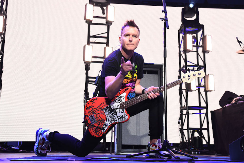 Mark Hoppus Is Done With Chemotherapy