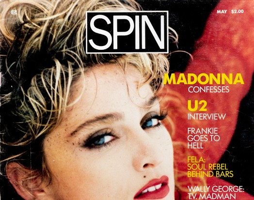 May 1985: Madonna