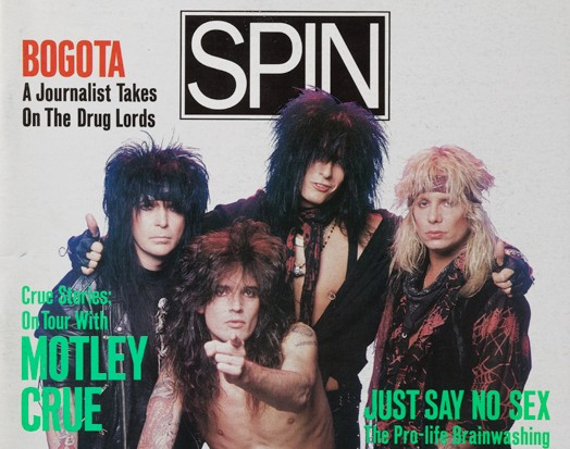 January 1990: Mötley Crüe
