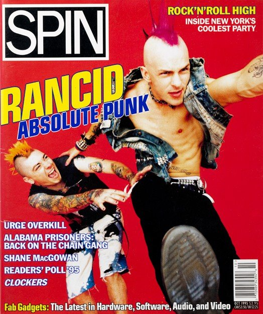 October 1995: Rancid