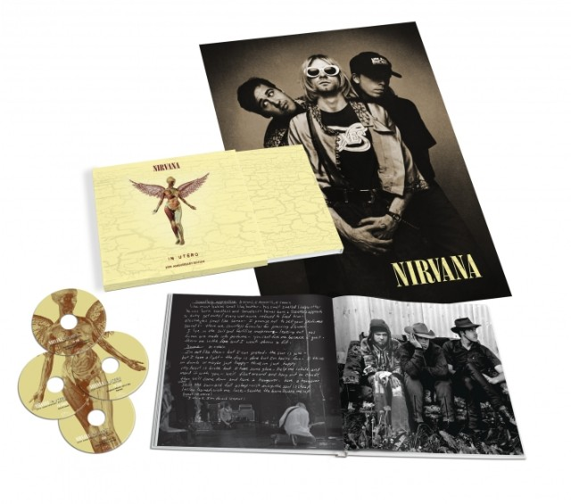 Nirvana 'In Utero' Deluxe Edition Kurt Cobain 20th anniversary