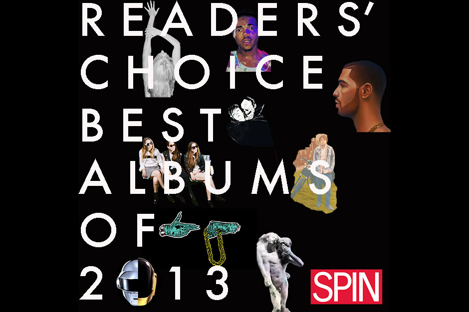 spin, readers' choice, best album of the year