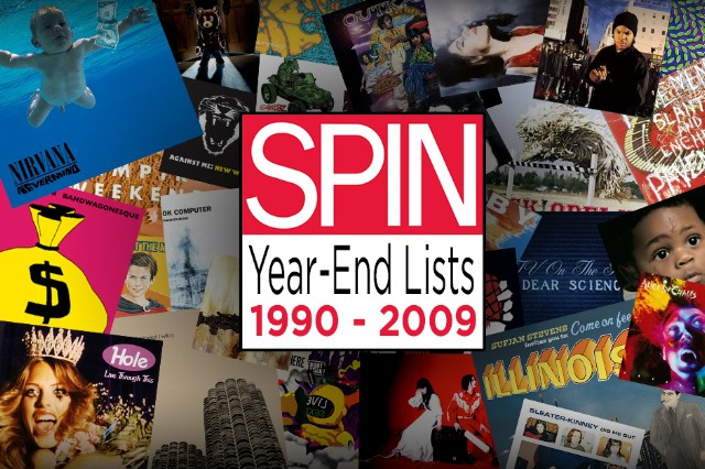 spin, album of the year, year-end lists