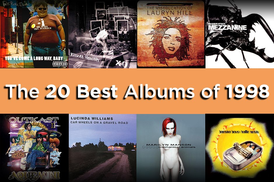 The 20 Best Albums of 1998 | SPIN