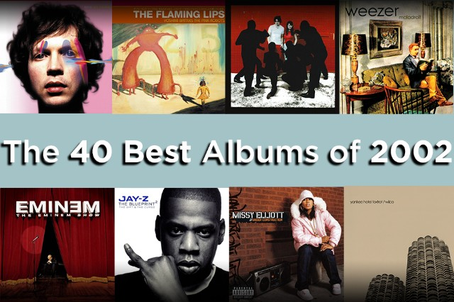 The 40 Best Albums of 2002
