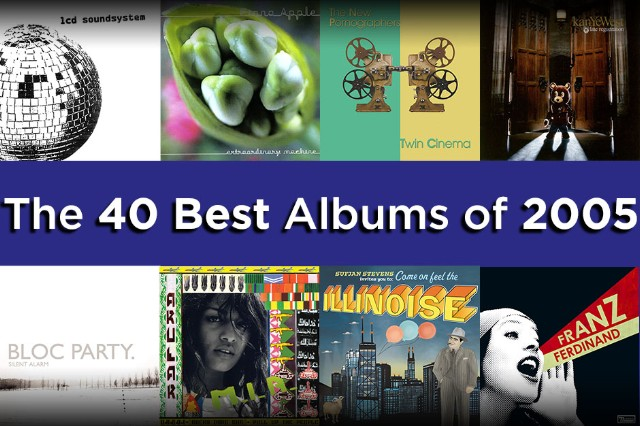 The 40 Best Albums of 2005