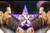 Andrew W.K. and Lil Bub Reunite in Space for 'Star Party Animal' Video
