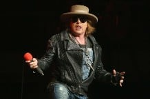 Axl Rose Red Hot Chili Peppers Super Bowl Letter lip syncing
